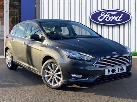 Ford Focus 1.0t Ecoboost Titanium Hatchback 5dr Petrol (s/s) (125 Ps) | MM18THN