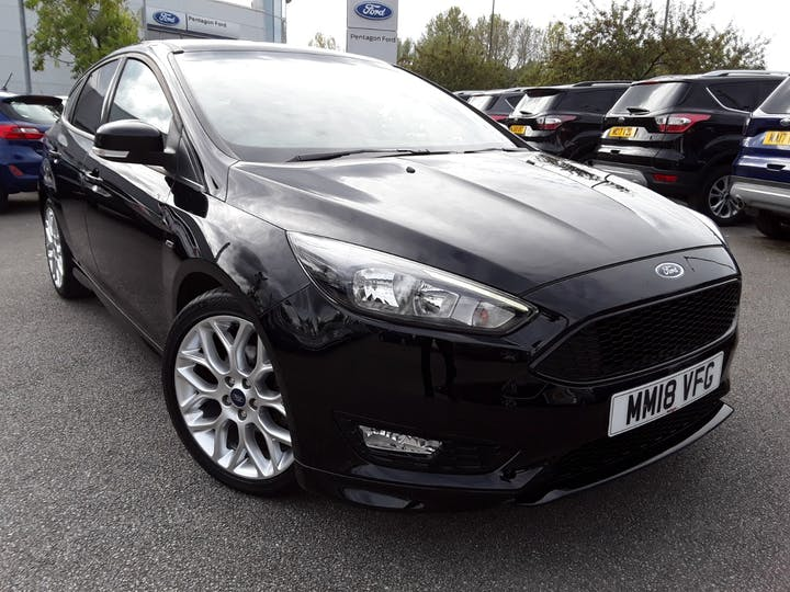 Ford Focus 1.0t Ecoboost St Line Hatchback 5dr Petrol (s/s) (140 Ps) | MM18VFG | Photo 1