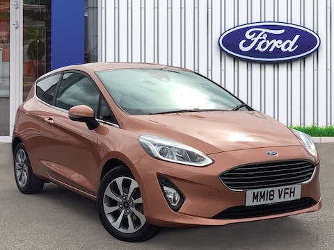 Ford Fiesta 1.1 Ti Vct Zetec Bandamp;o Play Series Hatchback 3dr Petrol Manual (s/s) (85 Ps) | MM18VFH