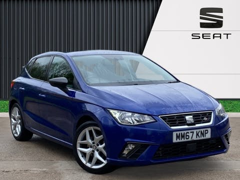 SEAT Ibiza 1.0 Tsi Fr Hatchback 5dr Petrol Manual (s/s) (115 Ps) | MM67KNP