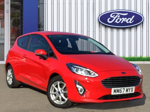 Ford Fiesta 1.1 Ti Vct Zetec Hatchback 3dr Petrol Manual (s/s) (85 Ps) | MM67MYX