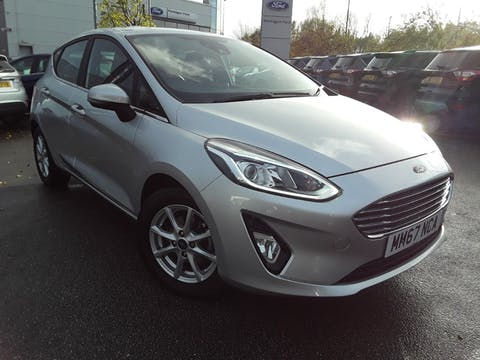 Ford Fiesta 1.1 Ti Vct Zetec Hatchback 5dr Petrol Manual (s/s) (85 Ps) | MM67NCA