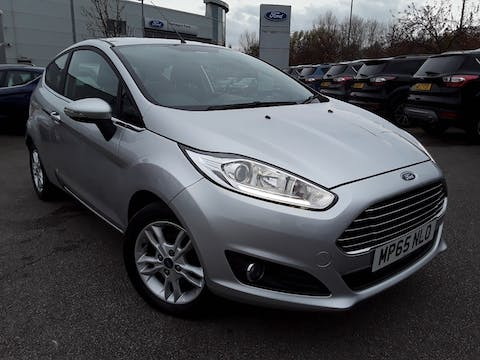 Ford Fiesta 1.25 Zetec Hatchback 3dr Petrol Manual (122 G/km, 81 Bhp) | MP65NLO