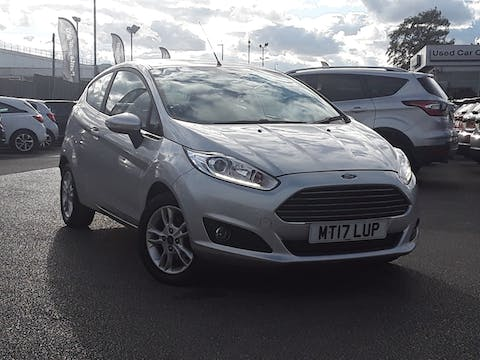 Ford Fiesta 1.0 T Ecoboost Zetec Hatchback 3dr Petrol Manual (s/s) (99 G/km, 99 Bhp) | MT17LUP