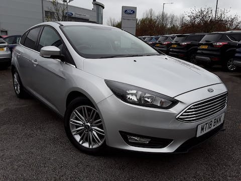 Ford Focus 1.0 Ecoboost 125PS Zetec Edition 5dr | MT18BKK