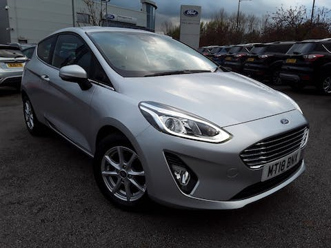 Ford Fiesta 1.1 Ti Vct Zetec Hatchback 3dr Petrol Manual (s/s) (85 Ps) | MT18BNX