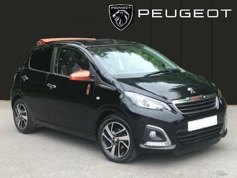 Peugeot 108 1.2 Puretech Roland Garros Top! 5dr Petrol (82 Ps) | MT18XFF
