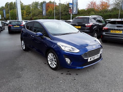 Ford Fiesta 1.0t Ecoboost Titanium Hatchback 5dr Petrol Manual (s/s) (100 Ps) | MT18YTH