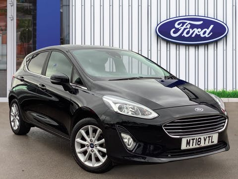Ford Fiesta 1.0t Ecoboost Titanium Hatchback 5dr Petrol Manual (s/s) (125 Ps) | MT18YTL
