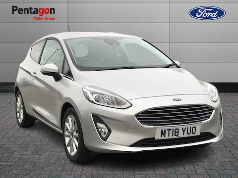 Ford Fiesta 1.0t Ecoboost Titanium Hatchback 3dr Petrol Manual (s/s) (100 Ps) | MT18YUO