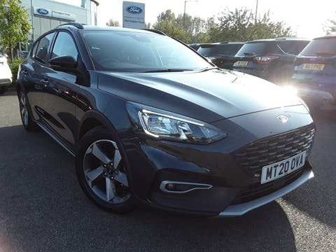 Ford Focus 1.0t Ecoboost Mhev Active Edition Hatchback 5dr Petrol Manual (s/s) (125 Ps) | MT20OVA