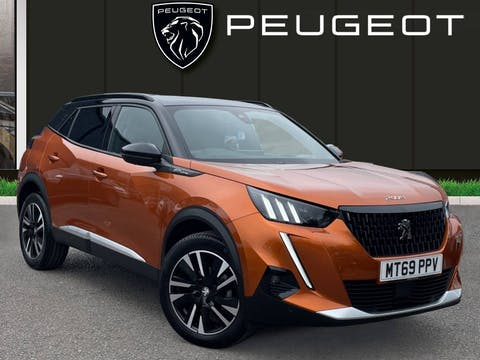 Peugeot 2008 1.5 Bluehdi GT Line SUV 5dr Diesel Manual (s/s) (100 Ps) | MT69PPV