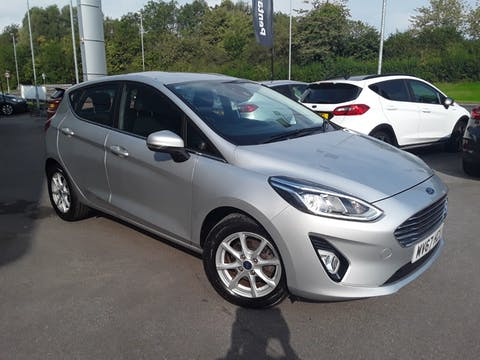 Ford Fiesta 1.1 Ti Vct Zetec Hatchback 5dr Petrol Manual (s/s) (85 Ps) | MV67HCU
