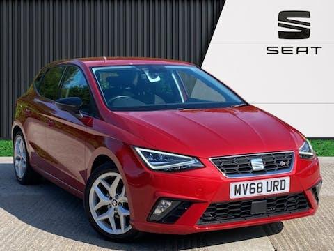 SEAT Ibiza 1.0 Tsi Fr Hatchback 5dr Petrol Manual (s/s) Gpf (95 Ps) | MV68URD
