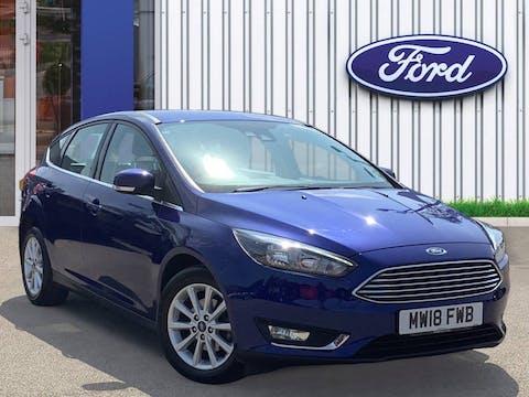 Ford Focus 1.0t Ecoboost Titanium Hatchback 5dr Petrol (s/s) (125 Ps) | MW18FWB