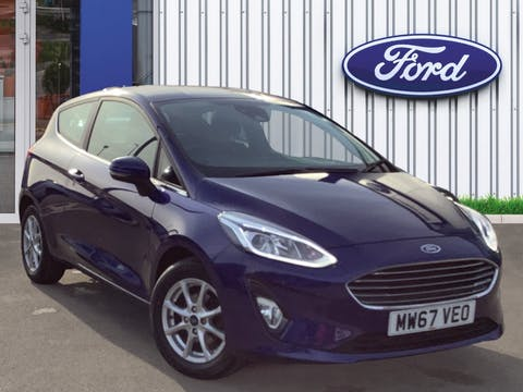 Ford Fiesta 1.1 Ti Vct Zetec Hatchback 3dr Petrol Manual (s/s) (85 Ps) | MW67VEO