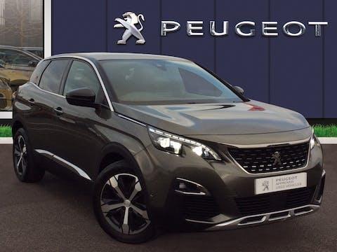Peugeot 3008 1.6 Bluehdi GT Line SUV 5dr Diesel (s/s) (120 Ps) | MX18RGV