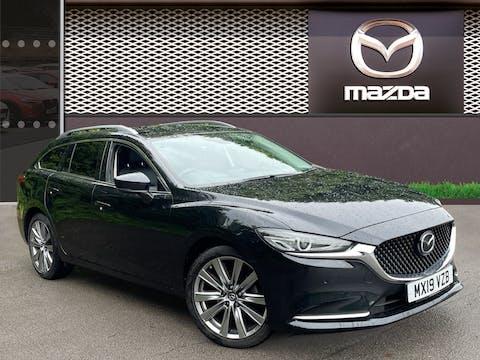 Mazda Mazda6 2.0 Skyactiv G Sport Nav Plus Tourer 5dr Petrol Manual (s/s) (165 Ps) | MX19VZB