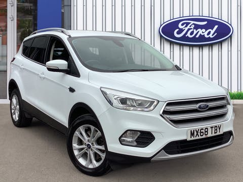 Ford Kuga 2.0 TDCi Titanium SUV 5dr Diesel Manual (s/s) (150 Ps) | MX68TBY