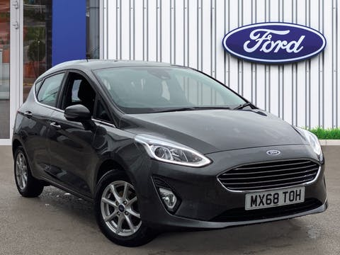 Ford Fiesta 1.1 Ti Vct Zetec Hatchback 5dr Petrol Manual (s/s) (85 Ps) | MX68TOH