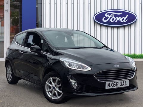Ford Fiesta 1.1 Ti Vct Zetec Hatchback 3dr Petrol Manual (s/s) (85 Ps)   MX68UAL