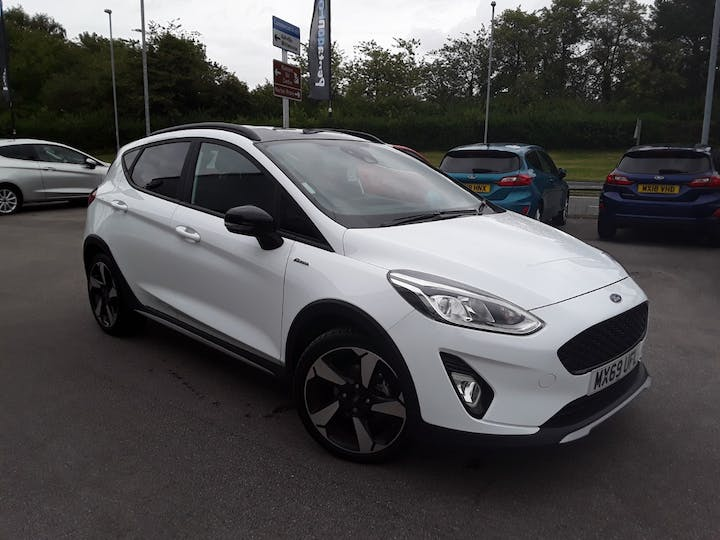 Ford Fiesta 1.0t Ecoboost Gpf Active Bandamp;o Play Hatchback 5dr Petrol Manual (s/s) (100 Ps) | MX69UFL | Photo 1