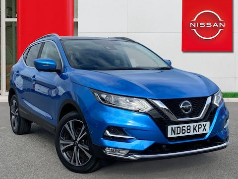 Nissan Qashqai 1.5 DCi N Connecta SUV 5dr Diesel Manual (s/s) (110 Ps) | ND68KPX