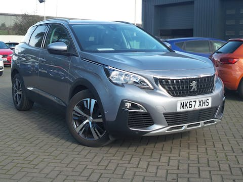 Peugeot 3008 1.6 Bluehdi Allure SUV 5dr Diesel (s/s) (120 Ps) | NK67XHS