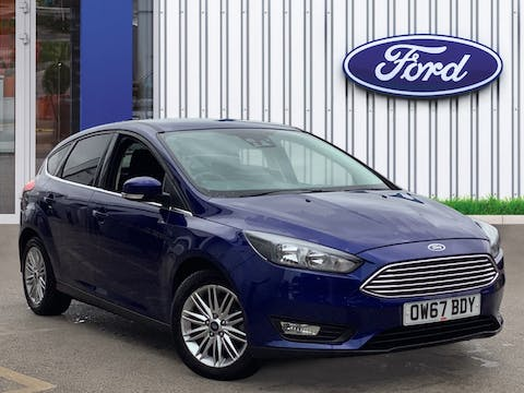 Ford Focus 1.0t Ecoboost Zetec Edition Hatchback 5dr Petrol (s/s) (125 Ps) | OW67BDY