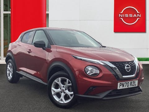 Nissan Juke 1.0 Dig T N Connecta SUV 5dr Petrol Dct Auto (s/s) (114 Ps) | PN70RZL