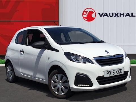 Peugeot 108 1.0 VTi Access Hatchback 3dr Petrol Eu5 (68 Ps) | PX15KKE