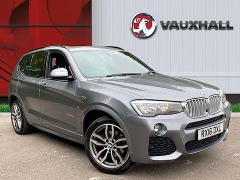 BMW X3 3.0 30d M Sport SUV 5dr Diesel Sport Auto Xdrive (156 G/km, 258 Bhp) | RX16DXL