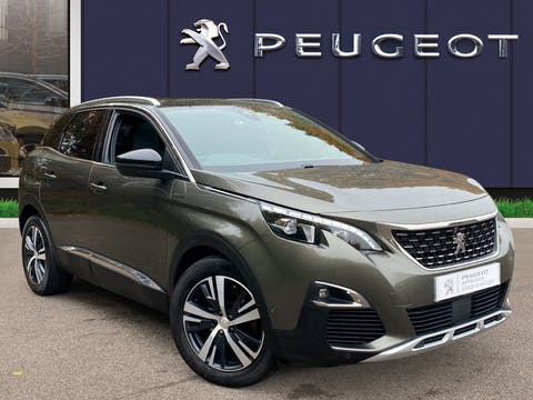 Peugeot 3008 1.6 Bluehdi GT Line SUV 5dr Diesel (s/s) (120 Ps) | SF67WYC