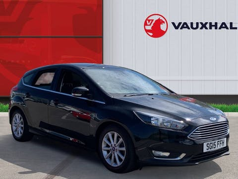 Ford Focus 1.0t Ecoboost Titanium Hatchback 5dr Petrol (s/s) (125 Ps)   SG15FFH