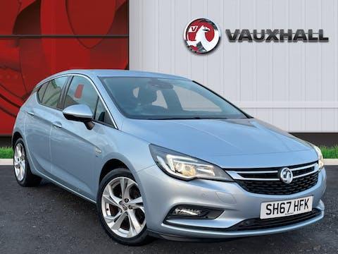 Vauxhall Astra 1.4i Turbo SRi Nav Hatchback 5dr Petrol (150 Ps) | SH67HFK