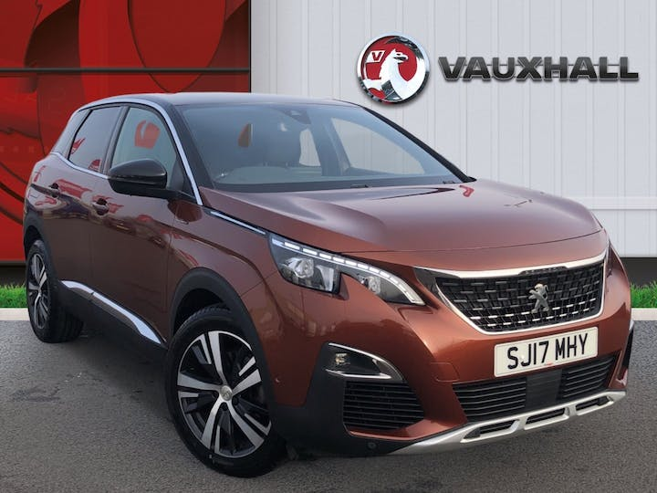 Peugeot 3008 1.6 Bluehdi GT Line SUV 5dr Diesel Eat (s/s) (120 Ps) | SJ17MHY | Photo 1