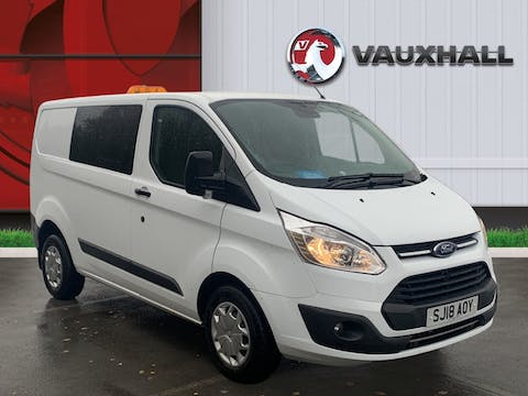 Ford Transit Custom 310 2.0 TDCi 130PS Trend Low Roof Doublecab | SJ18AOY