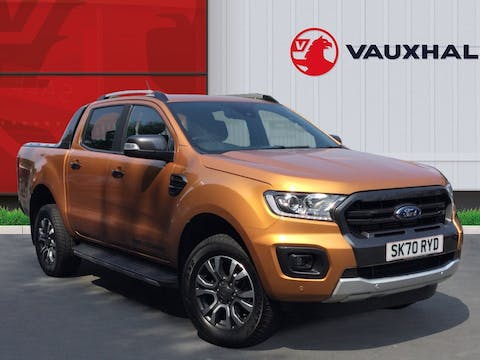 Ford Ranger 2.0 Ecoblue Wildtrak Double Cab Pickup 4dr Diesel Auto 4wd (s/s) (213 Ps)   SK70RYD