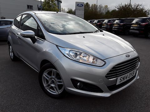 Ford Fiesta 1.0 Ecoboost Zetec Hatchback 3dr Petrol Manual (s/s) (99 G/km, 99 Bhp) | SM14OYB