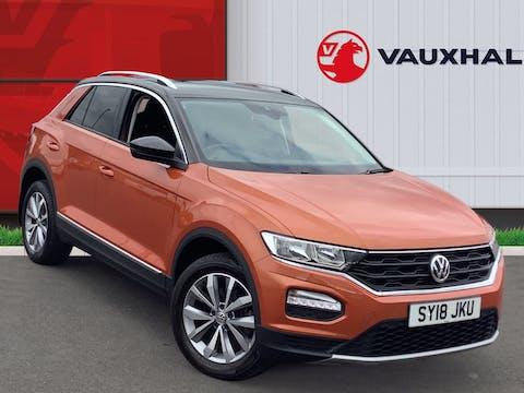 Volkswagen T Roc 1.0 Tsi Design SUV 5dr Petrol Manual (s/s) (115 Ps)   SY18JKU