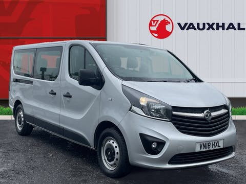 Vauxhall Vivaro 1.6 CDTi 2900 Biturbo Ecoflex Combi Van 5dr Diesel Manual L2 H1 Eu6 (s/s) (9 Seat) (95 Ps) | VN18HXL