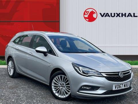 Vauxhall Astra 1.4i Turbo Elite Sports Tourer 5dr Petrol (150 Ps) | VO67WAU