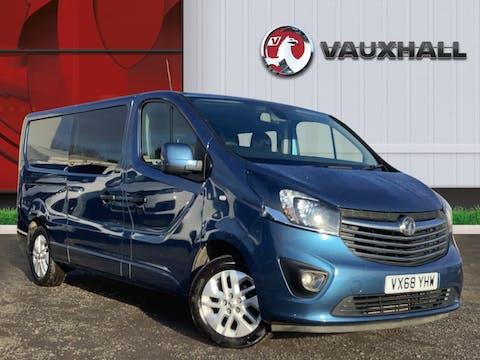 Vauxhall Vivaro 1.6 CDTi 2900 Biturbo Ecotec Sportive Crew Van 5dr Diesel Manual L2 H1 Eu6 (s/s) (6 Seat) (125 Ps) | VX68YHW