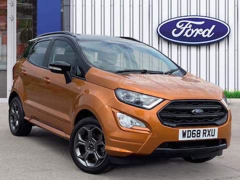 Ford EcoSport 1.0t Ecoboost Gpf St Line SUV 5dr Petrol Manual (s/s) (125 Ps)   WD68RXU