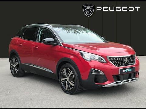 Peugeot 3008 1.6 Bluehdi Allure SUV 5dr Diesel (s/s) (120 Ps)   WF18SXN