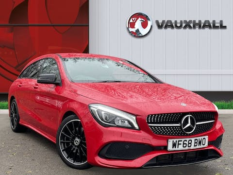 Mercedes Benz Cla Class 2.1 Cla220d Amg Line Night Edition Shooting Brake 5dr Diesel 7g Dct (s/s) (170 Ps) | WF68BWO