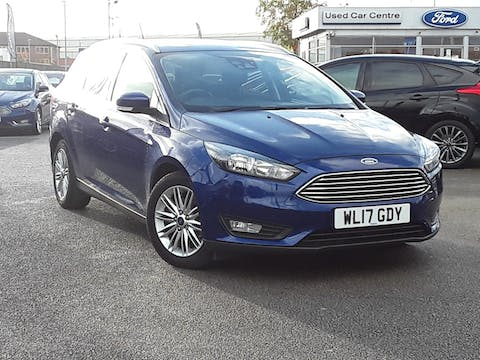 Ford Focus 1.5 TDCi 120PS Zetec Edition Estate | WL17GDY
