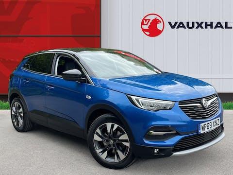 Vauxhall Grandland X 1.2 Turbo SRi Nav SUV 5dr Petrol Auto (s/s) (130 Ps) | WP69XNZ