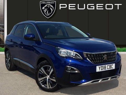 Peugeot 3008 1.2 Puretech Allure SUV 5dr Petrol (s/s) (130 Ps) | YD18CBC