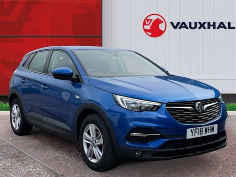 Vauxhall Grandland X 1.6 Turbo D Blueinjection SE SUV 5dr Diesel Manual (s/s) (120 Ps)   YF18WHW